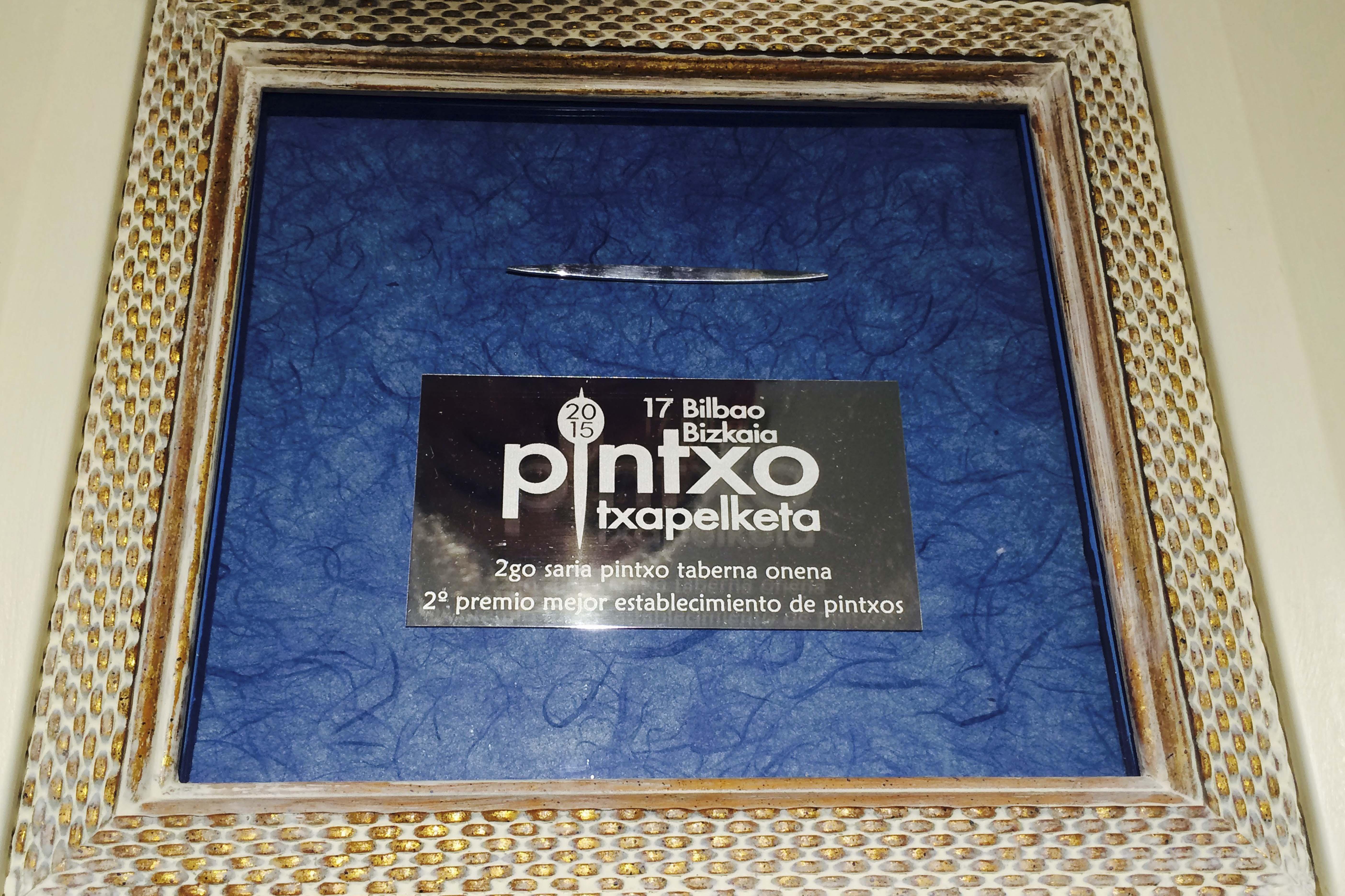 Palillo de Plata al mejor establecimiento de pintxos de Bilbao